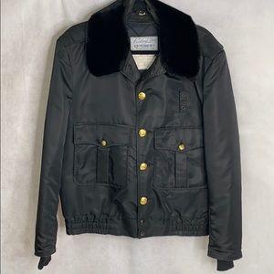 Blauer Vintage Police Military Law Bomber Jacket